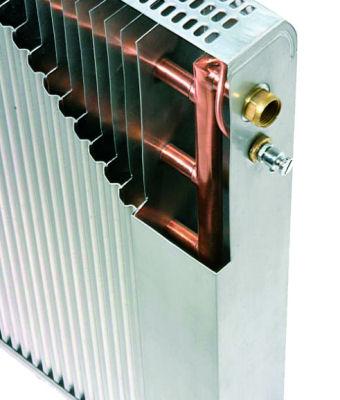 Конструкции медно-алюминиевых радиаторов Regulus